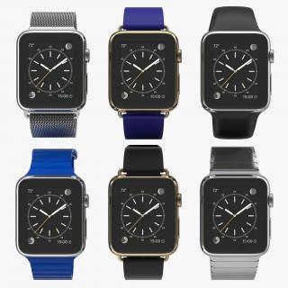 Apple Watch 3D Models Collection 4 3D model
