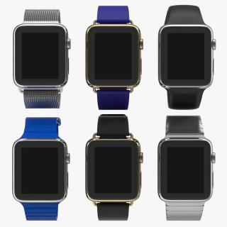 Apple Watch 3D Models Collection 2 3D model