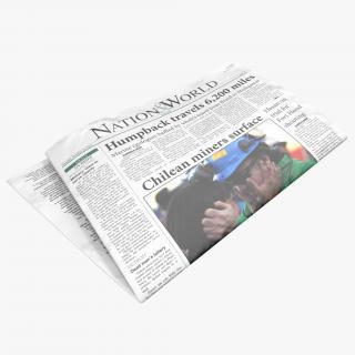 3D Newspaper 2