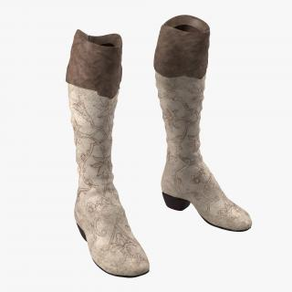 3D model Knee High Boots