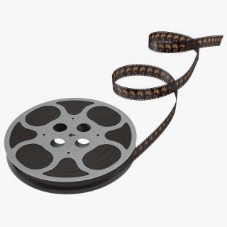 Video Film Reel 3 3D