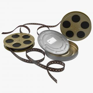3D Video Film Reel Set 4