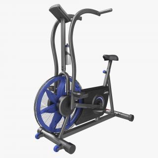 Exercise Bike Stamina Airgometer 3D