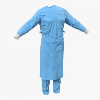 3D Doctor Clothing Collection 5 model