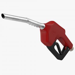 Gas Pump Red 3D
