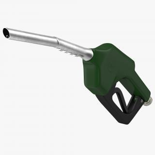 Gas Pump Green 3D model