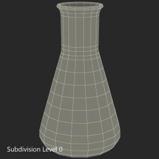 50 ml Erlenmeyer Flask 3D