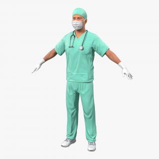 Male Surgeon 3D