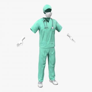 3D Surgeon Dress 17