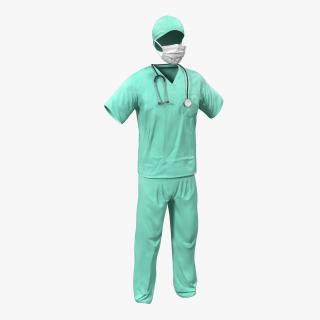 3D Surgeon Dress 18
