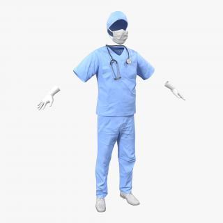 3D Surgeon Dress 13