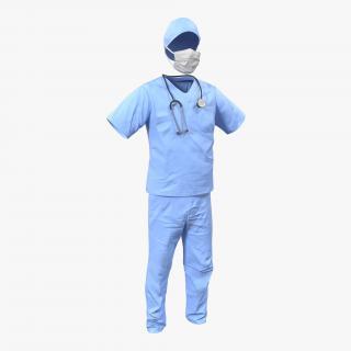 3D Surgeon Dress 14