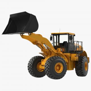 3D Generic Front End Loader Rigged