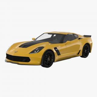 3D Chevrolet Corvette model