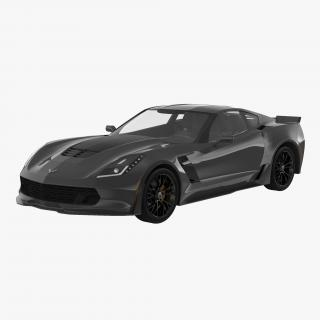 Chevrolet Corvette 2015 Simple Interior 3D model