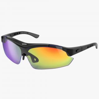 3D Sport Glasses model