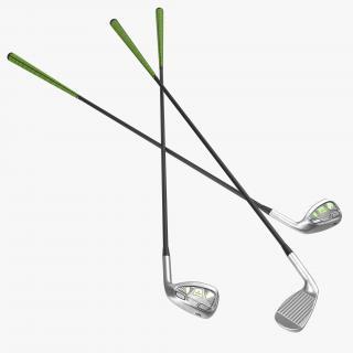 3D 9 Iron Golf Club
