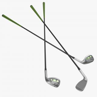 9 Iron Golf Club Generic 3D model