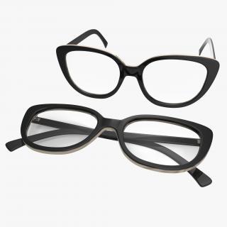 3D Glasses Set 2 model