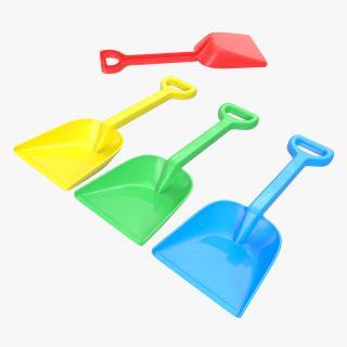 Toy Shovel 2 3D