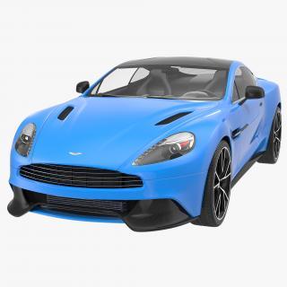 3D Aston Martin Vanquish 2014