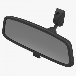 Car Rearview Mirror 3D model
