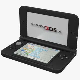3D Nintendo 3DS XL Black