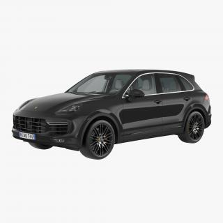 3D model Porsche Cayenne Turbo S 2015 Rigged