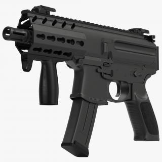 Machine Pistol Generic 3D