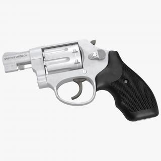 3D model Revolver Smith and Wesson