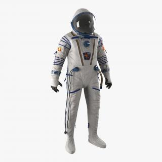 3D model Russian Space Suit Sokol KV2 Rigged