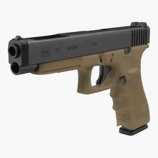 Competition Pistol Glock 34 3D