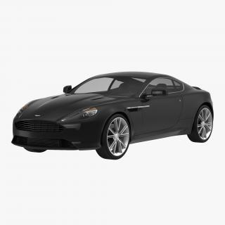 Aston Martin DB9 2014 Simple Interior 3D