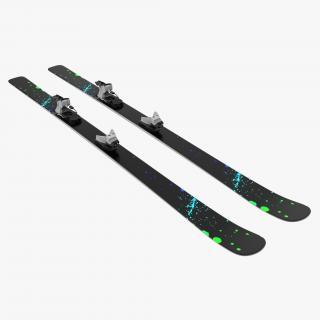 3D model Snow Ski 2