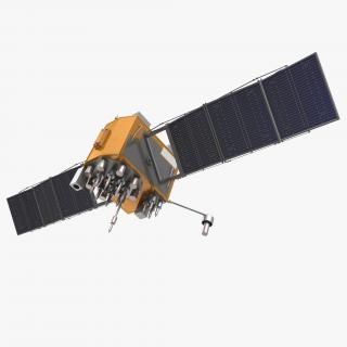 3D GPS Satellite Navstar Block IIF