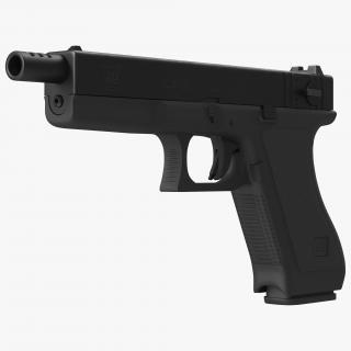 3D model Automatic Pistol Glock 18
