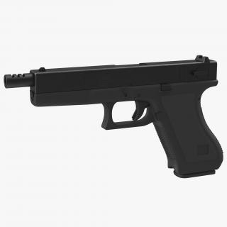 Automatic Pistol Generic 3D model