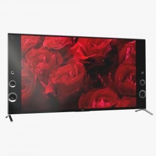 3D Sony X900B Premium 4K Ultra HD TV model