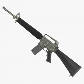 3D Rifle M16A2