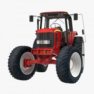 Tractor Generic Rigged 3D