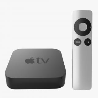 Apple TV Collection 3D model
