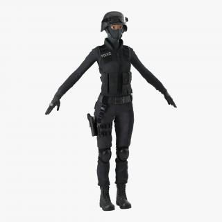 SWAT Woman 2 3D