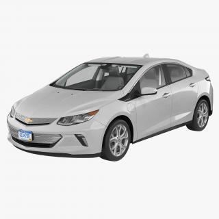 3D model Chevy Volt 2016