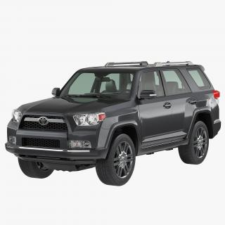 Toyota 4Runner 2012 3D model