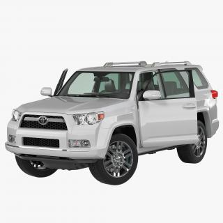 3D Toyota 4Runner 2012 Rigged