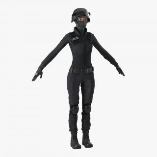 SWAT Woman 3 3D