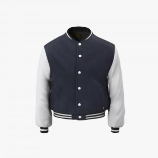 Baseball Jackets Collection 3D