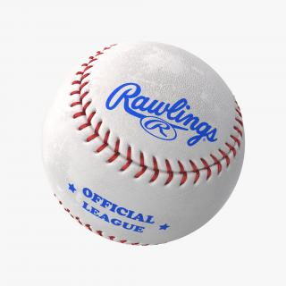 Baseball Ball Rawlings 3D