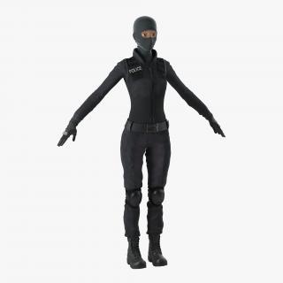 SWAT Woman 4 3D
