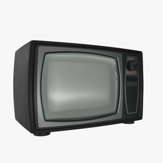 3D model Retro TV 2
